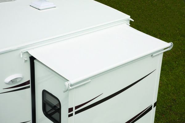 Replacement Fabric for Dometic Elite EZ Slidetopper, Polar White