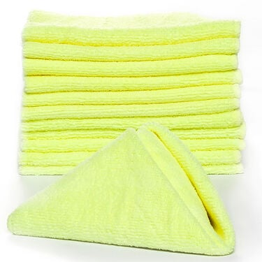 Camco Microfiber Cleaning Cloths, 12-Pack