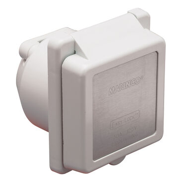 Marinco Standard 30-Amp / 125V Easy Lock Power Inlet
