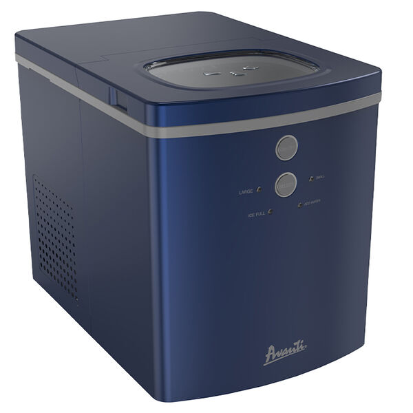 Avanti Portable Countertop Ice Maker, Dark Blue