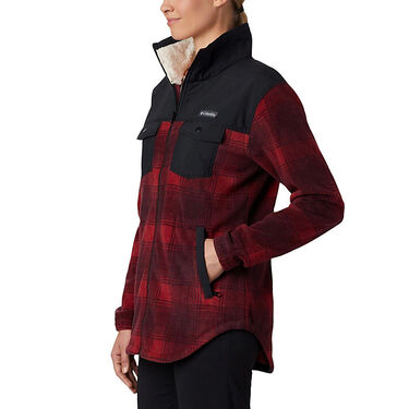 Women's Columbia Benton Springs Overlay Fleece