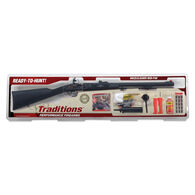 Traditions Deerhunter .50 Cal. Flintlock Redi-Pak, Black/Blued