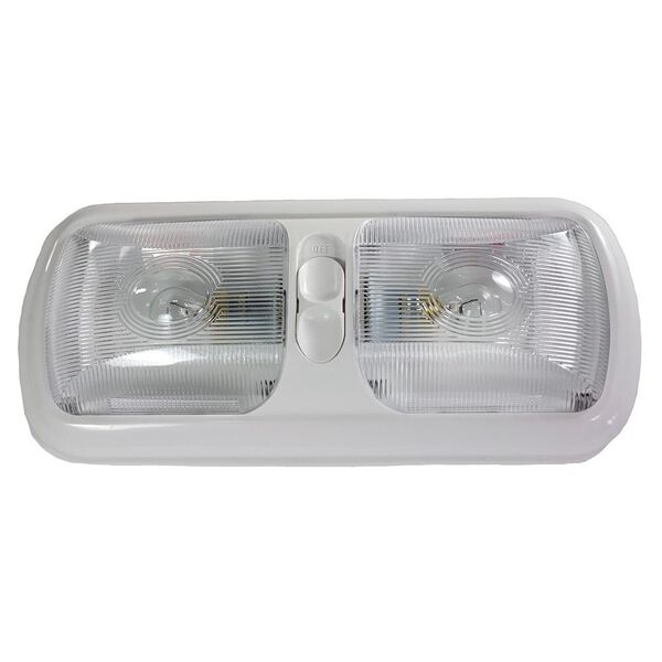 LED Euro Light Fixture, Double- Bright White