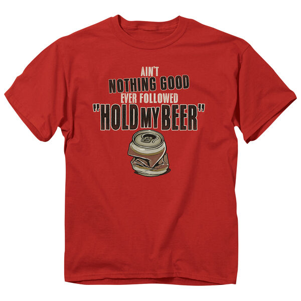 Buck Wear Men's Ain't Nothing Good Beer Short-Sleeve Tee