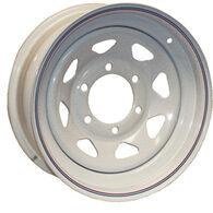Kenda Loadstar White Trailer Wheel With 6 On 5.5 Bolt Pattern