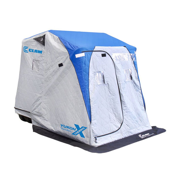 Clam Outdoors Yukon X Thermal Ice Shelter