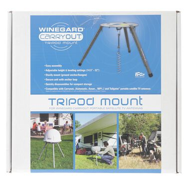 Winegard Carryout Portable Satellite Antenna Tripod Mount