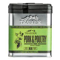 Pork & Poultry Treager Rub, 9.25 oz.