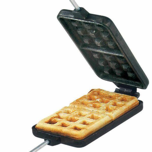 Rome Cast Iron Campfire Waffle Iron