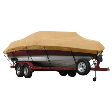 Exact Fit Covermate Sunbrella Boat Cover for Javelin 379 379T W/Port Troll Mtr O/B