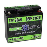 Nexgen 12V Lithium Ion Battery - 12V 20AH Replacement