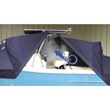 Taylor Made T-Top Boat Cover for Key West 210 Bay Reef