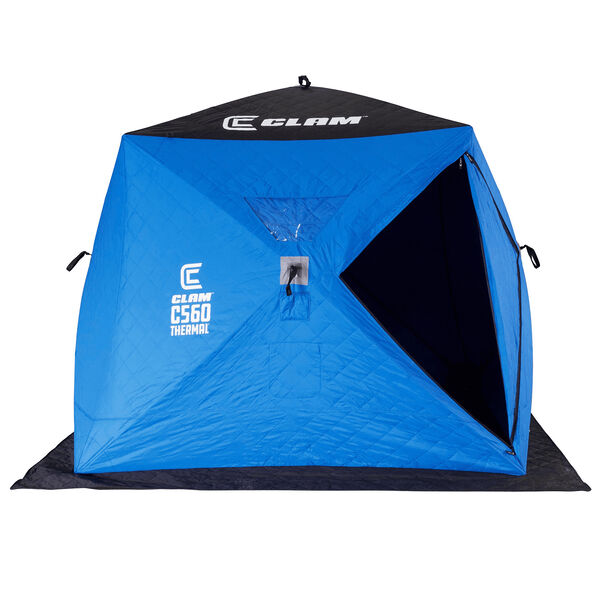 Clam Outdoor  C-560 Thermal Hub Ice Fishing Shelter