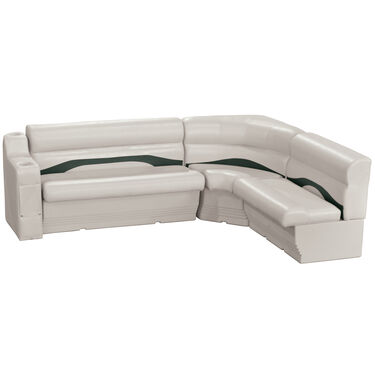Toonmate Premium Pontoon Furniture Rear Wraparound Package, Platinum