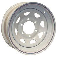 Kenda Loadstar White Trailer Wheel With 5 On 4.5 Bolt Pattern