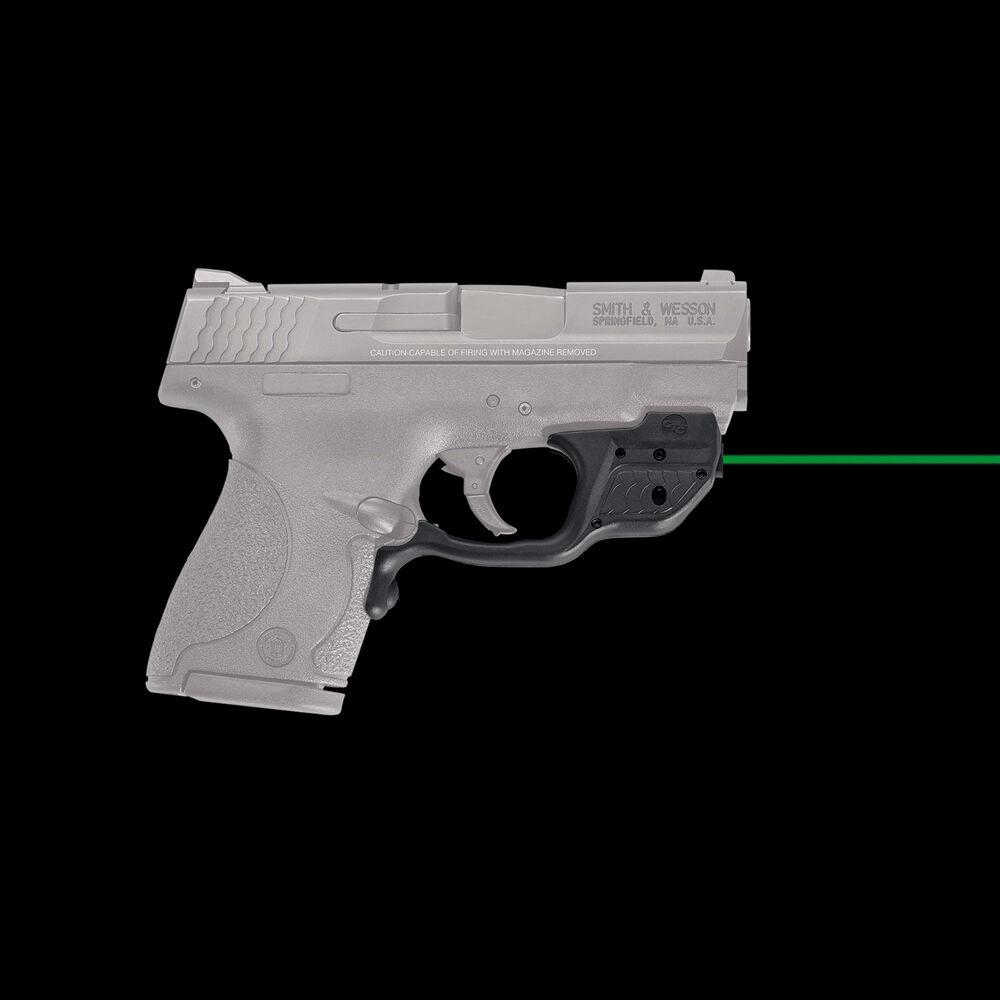 Crimson Trace LG-489G Green Laserguard - S&W 9mm/ 40 M&P Shield, M&P Shield  M2 0