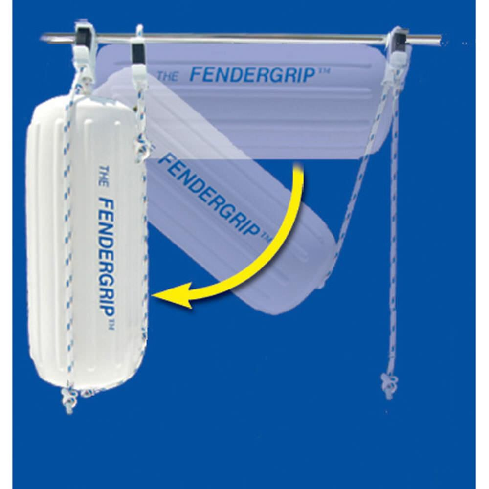The Best LIFETIME WTY! 6 FENDERGRIP® Fender Holder Adjuster Hanger for Boats