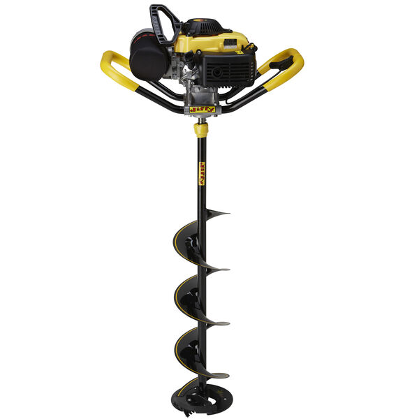 """Jiffy 46X-Treme Ice Auger with 8"""" Stealth STX Drill Assembly"""