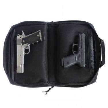 Drago Gear Double Pistol Case, Black