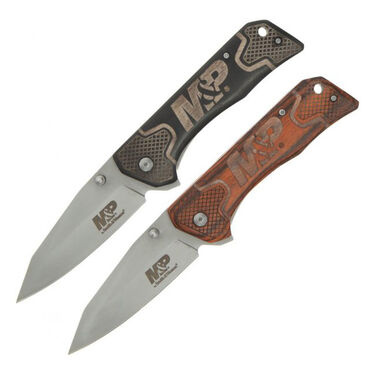 Smith & Wesson M&P Liner-Lock Knife Combo Pack