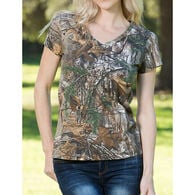 Realtree Women's Dual-Blend Short-Sleeve Tee