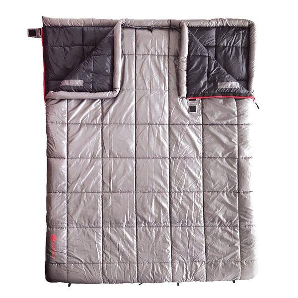 erehwon Hawkspring 30° Double Rectangle Sleeping Bag, Grey