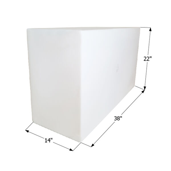 ICON Technologies WT2453 Freshwater Tank Only, 50 Gallons