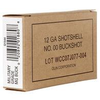 """Winchester Military Grade Ammo, 12 Ga., 2-3/4"""", 9 pellets, 00 Buckshot"""