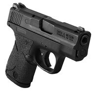 TALON Grips Adhesive Pistol Grips for Smith & Wesson M&P Shield 9mm/.40, Rubber
