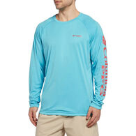 Columbia Men's PFG Terminal Tackle Heather Long-Sleeve Tee
