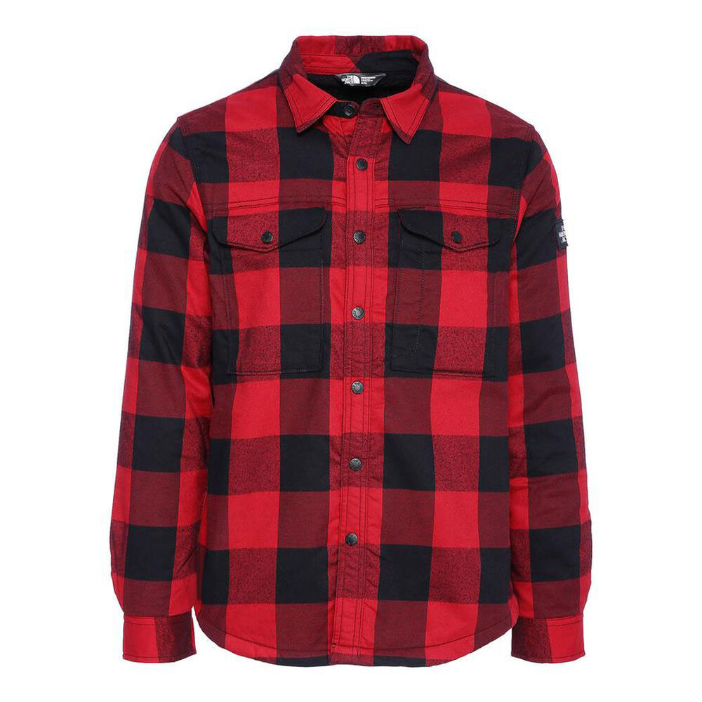 3d45e008f The North Face Men's Campground Sherpa Shirt Jacket