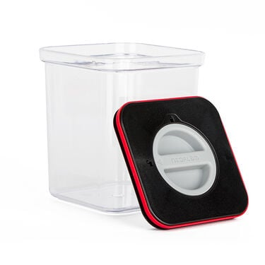 Neoflam Square Pantry Canister with Smart Seal Lid, 1.5 Quarts