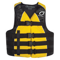 Overton's Men's 4-Buckle Nylon Vest - Yellow - L/XL
