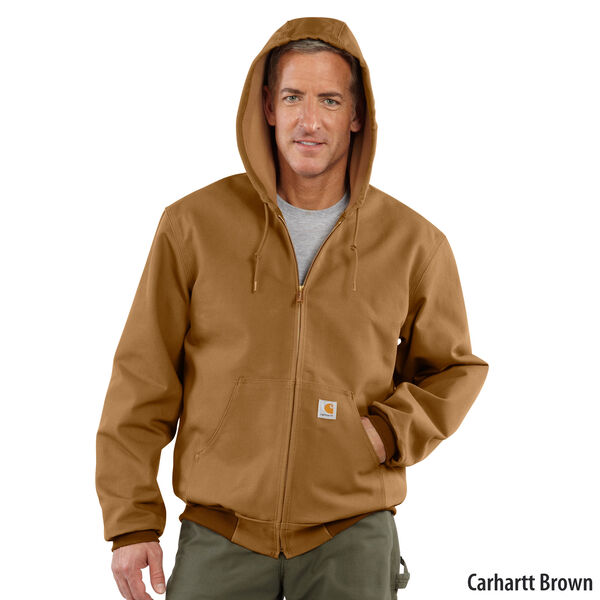 Carhartt Men's Duck Thermal-Lined Active Jacket
