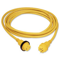 Marinco 30-Amp 125V Power Cord Plus Cord Set With LED, 25'