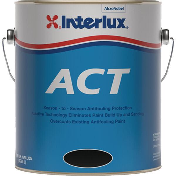 Interlux Fiberglass Bottomkote ACT With Irgarol Antifouling Boat Paint, Quart