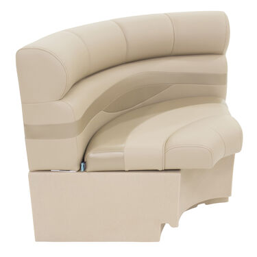 Taylor Made Platinum Series Radius Corner Pontoon Seat