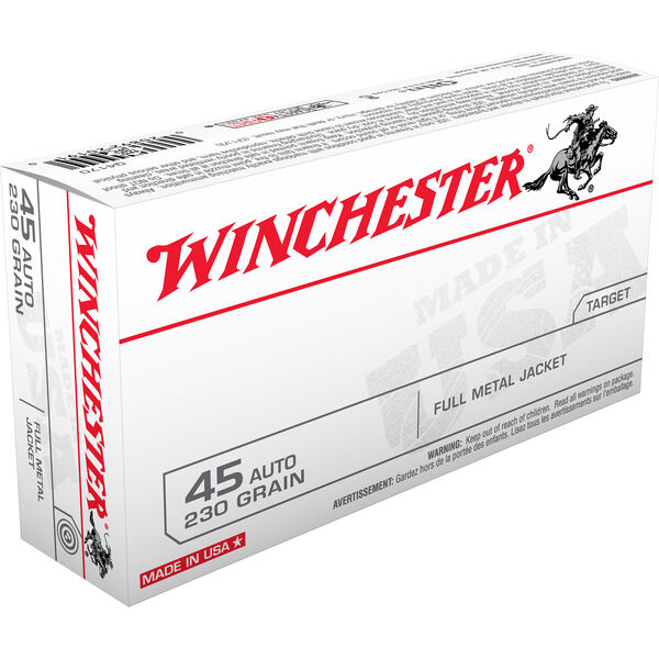 Winchester USA Handgun Ammunition