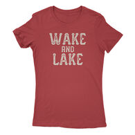Points North Women's Wake And Lake Short-Sleeve Tee