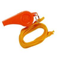Orange Safety Whistle