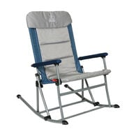 Venture Forward Rocking Chair with Removable Pad, Blue/Gray