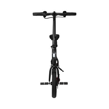 SwagCycle Pro Folding Electric Bicycle, Black