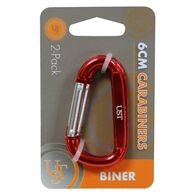 Ultimate Survival Technologies Carabiner 2-Pack, 6cm