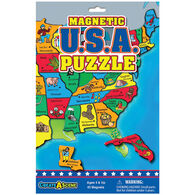 Play Monster Magnetic USA Puzzle