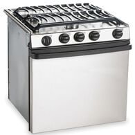 "Dometic Atwood Stainless Steel 3-Burner Ranges, 21"" Range"