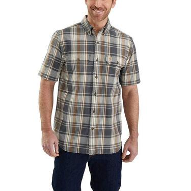 Carhartt Men's Fort Plaid Short-Sleeve Shirt