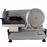 """CHARD Heavy-Duty 8.6"""" Stainless Steel Electric Slicer"""