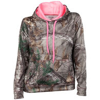 Realtree Women's Camo Pullover Hoodie - Realtree Xtra
