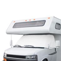 Overdrive RV Windshield Cover without Cutouts - Ford '92-'03, White