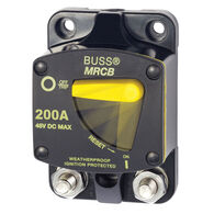Blue Sea Systems 187-Series Thermal Circuit Breaker, Surface Mount 200A